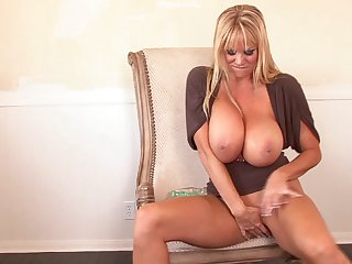Kelly Madison is a grown up woman down need of a bunch of sex toy